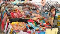 Mercato a Baselga di Piné - Baselga di Pinè